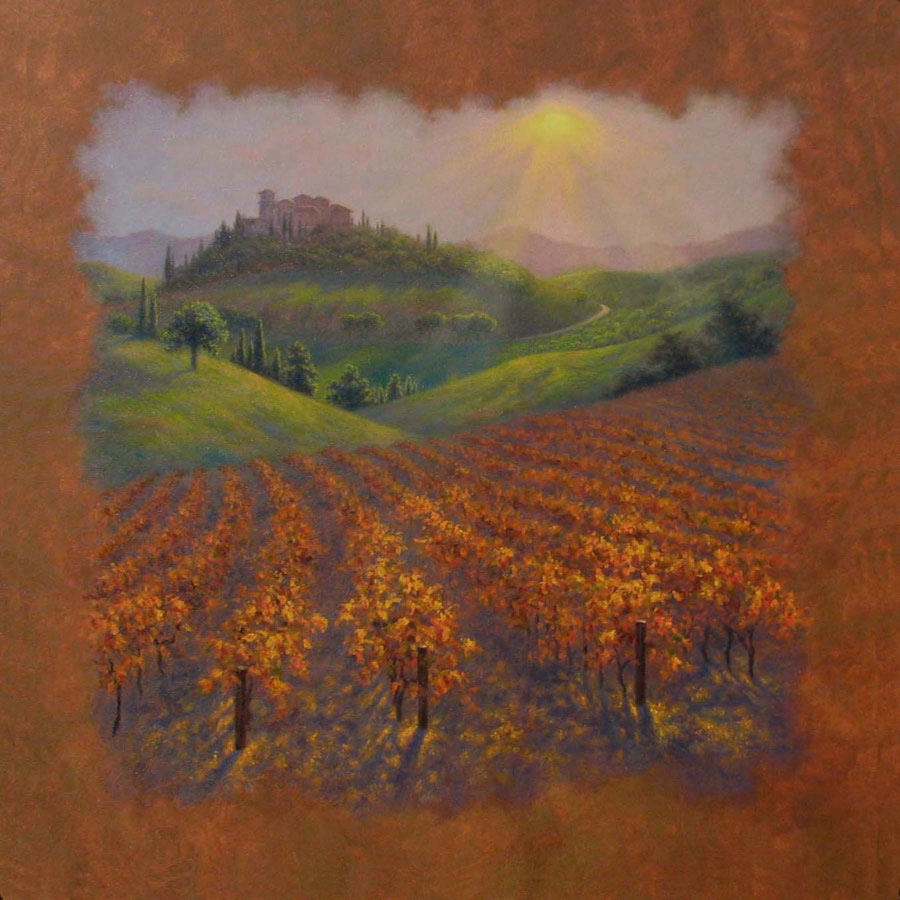 Robert Copple Kissed By The Tuscan Sun