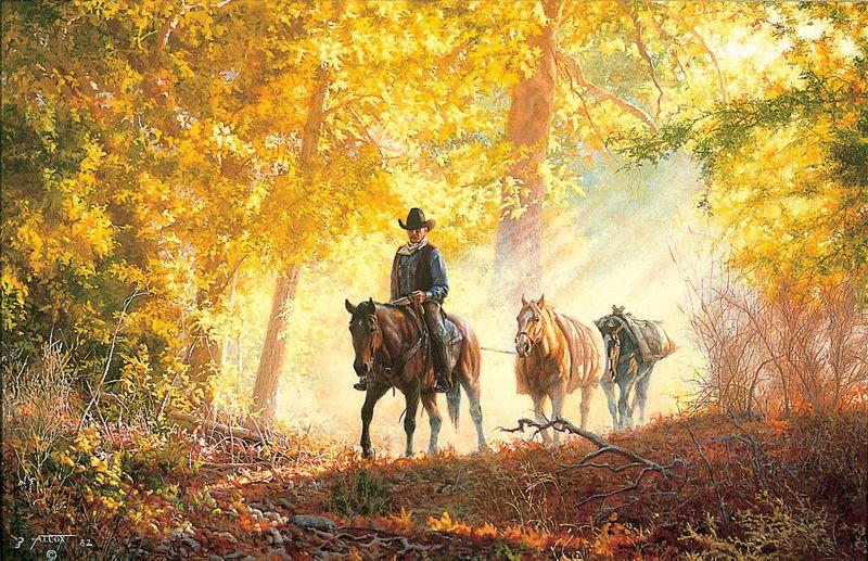 Tim Cox Autumn Morning ride