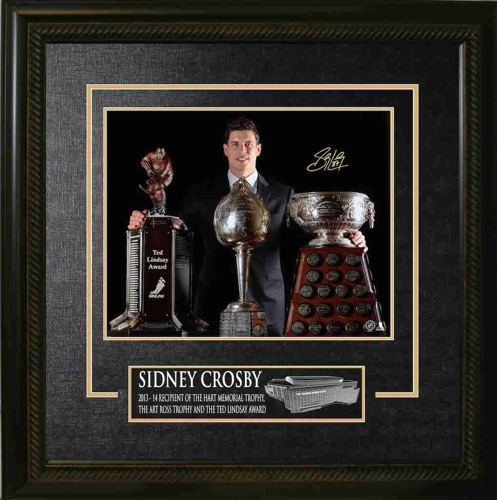 Sidney Crosby Trophies