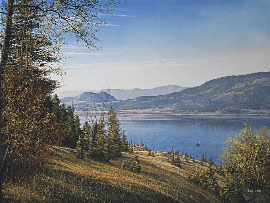 David Daase Knox Mountain and Okanagen Lake
