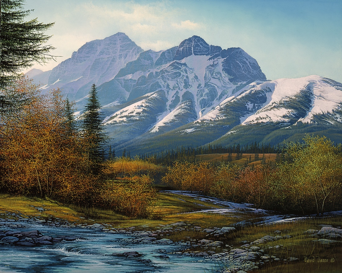 David Daase Mount Kidd Kananaskis
