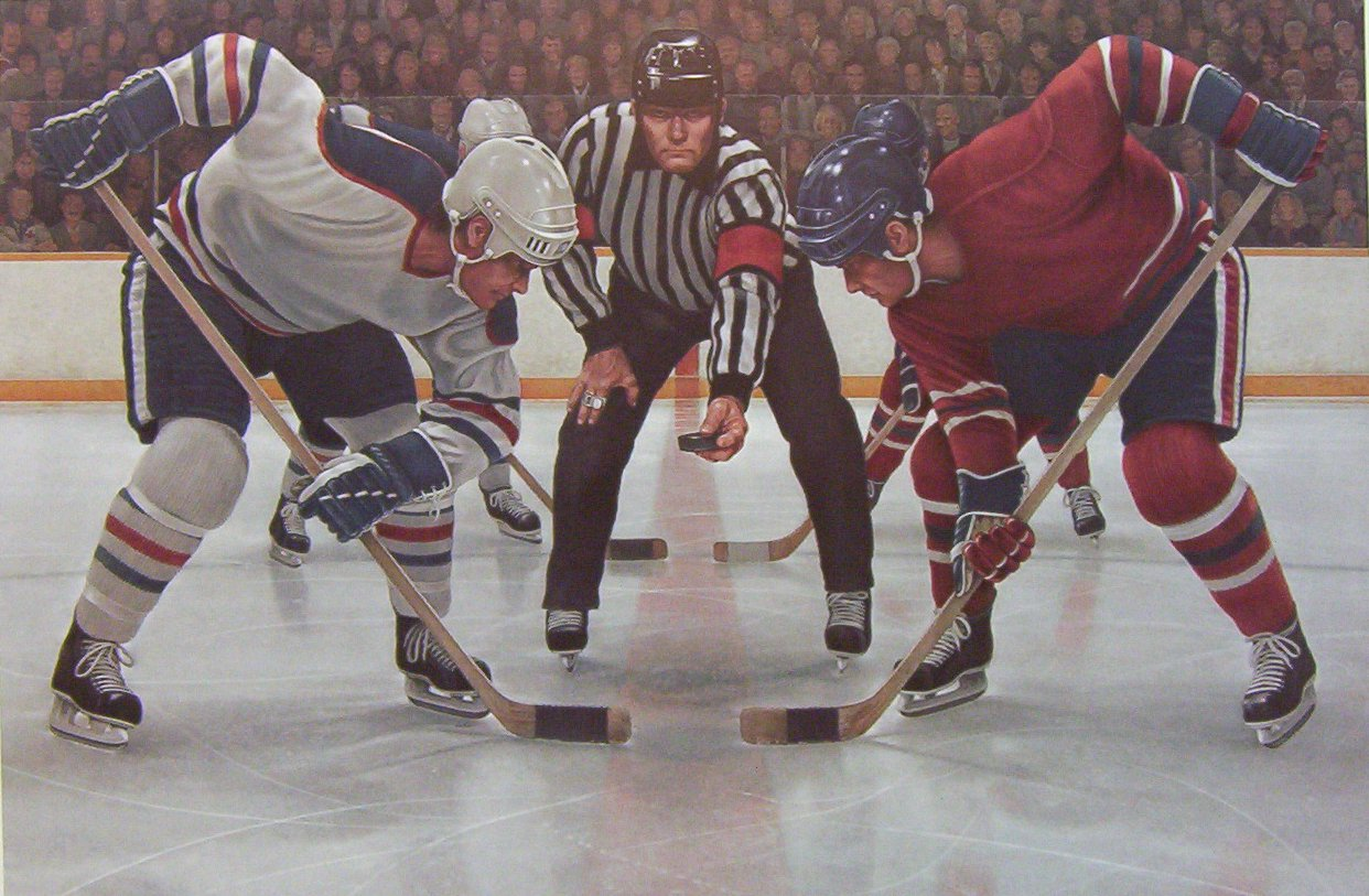 Ken Danby Face Off