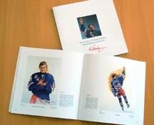 Ken Danby The Great Farewell Wayne Gretzky Book