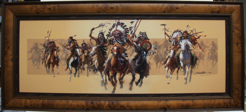 Art country canada bev doolittle beyond negotiations giclee on