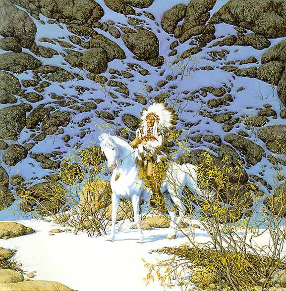 Bev Doolittle Eagle Heart