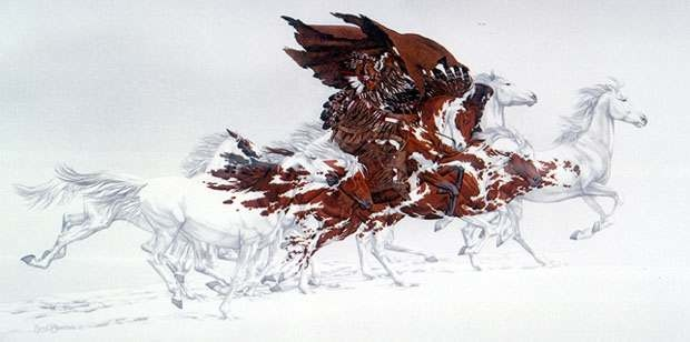 Bev Doolittle Eagle's Flight