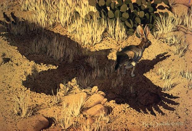 Bev Doolittle Escape By A Hare