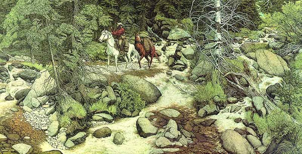 Bev Doolittle The Forest Has Eyes