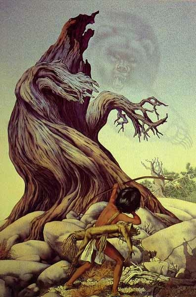 Bev Doolittle Ghost Of The Grizzly Tree