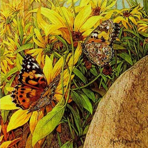 Bev Doolittle Painted Ladies
