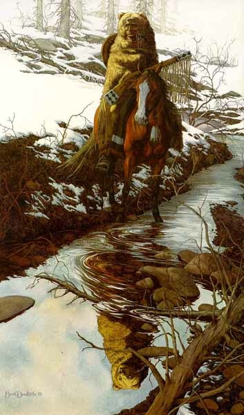 Bev Doolittle Spirit Of The Grizzly