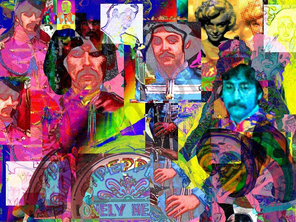 The Beatles Murray Eisner Lonely Hearts Band