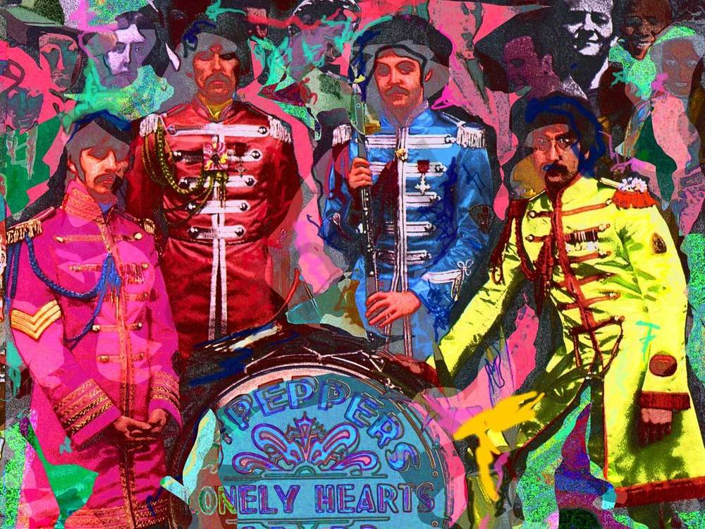 Murray Eisner Beatles Seargant Pepper