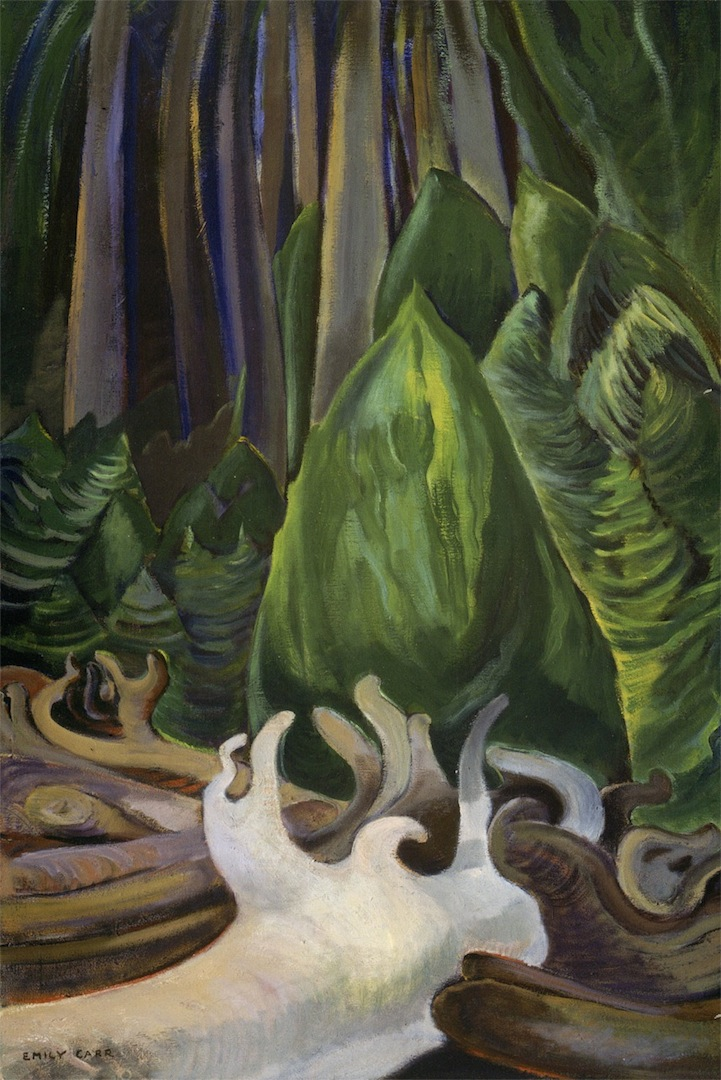 Emily Carr Sea Drift at Edge of Forest