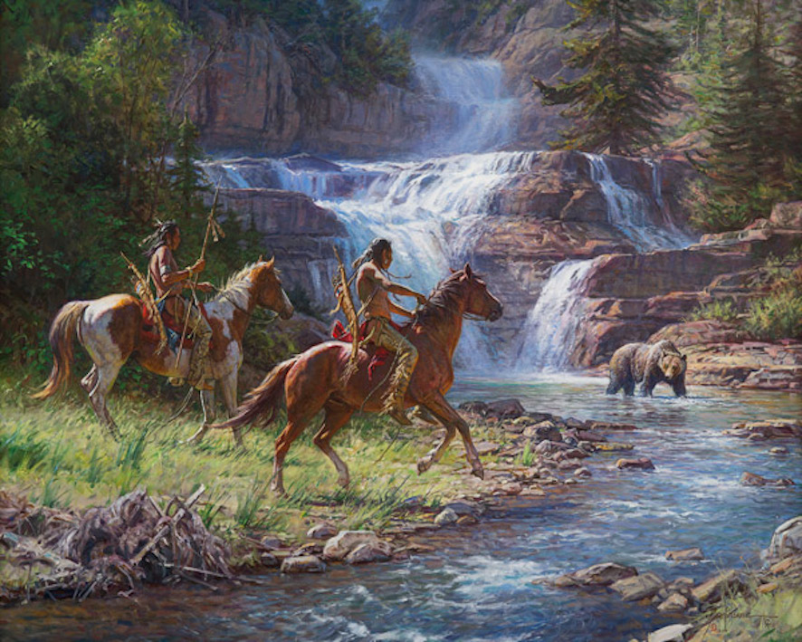 Martin Grelle Encounter at the Galls