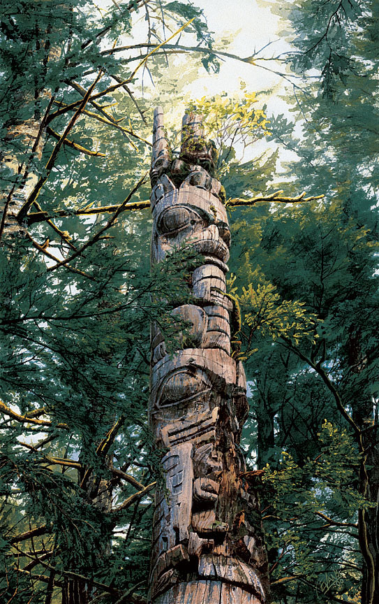 Carol Evans The Power and the Mystery Totem Pole