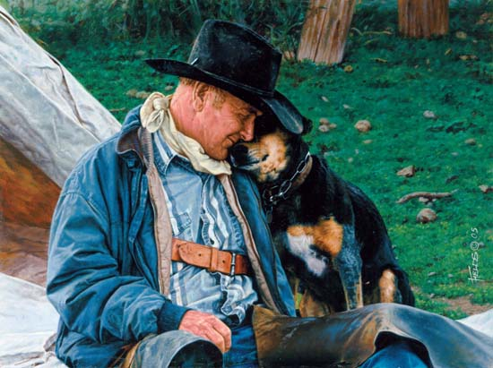 Fred Fields A Dog and his Cowboy