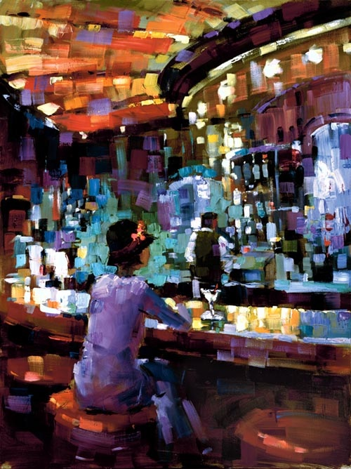 Michael Flohr Mel At The Bar