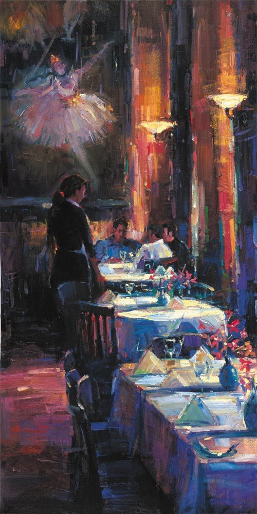Micheal Flohr Lunch With Degas