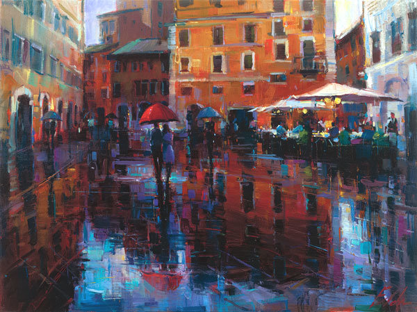 Micheal Flohr Romance In The Rain