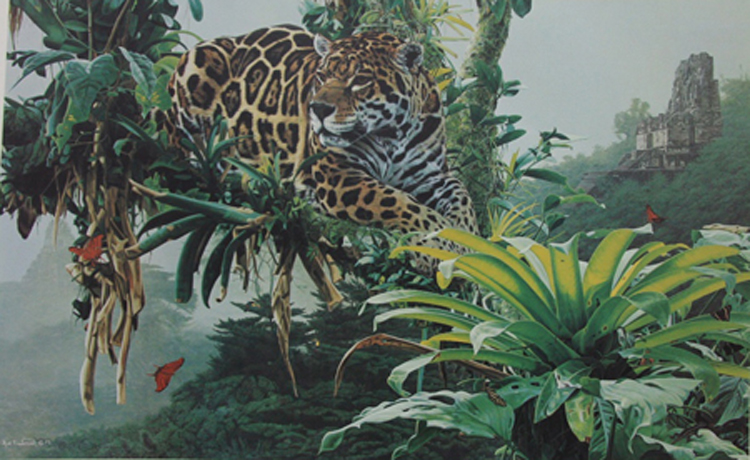 Rod Frederick Temple Of The Jaguar