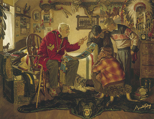Arnold Friberg Tales Of the Force