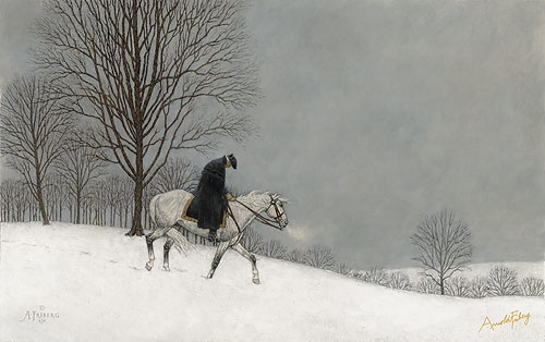 Arnold Friberg Winter At Valley Forge