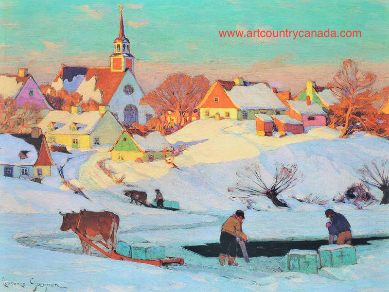 Clarence gagnon Ice Harvest