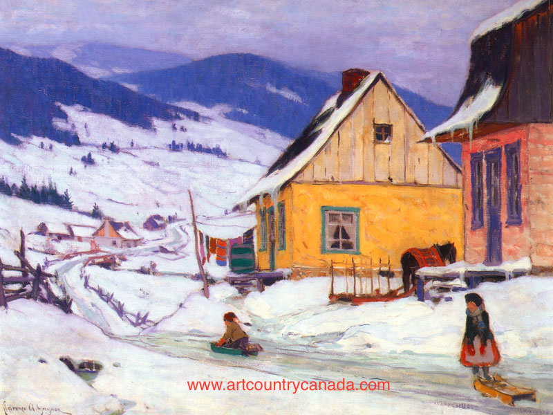 Clarence Gagnon The Yellow House
