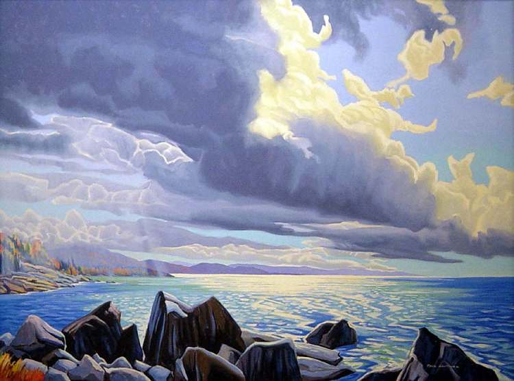 Paul Gauthier - Break of Light-Robertson Cove