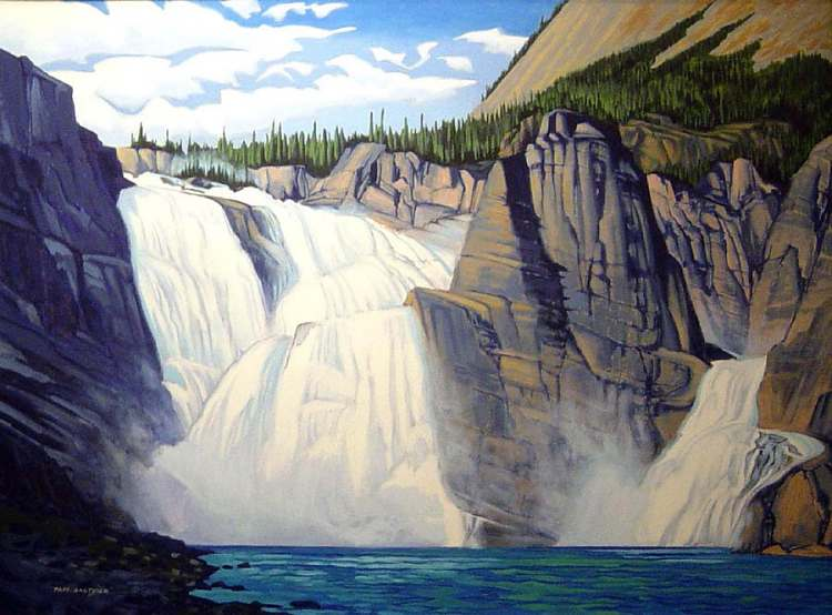 Paul Gauthier - Great Falls on the Nahanni