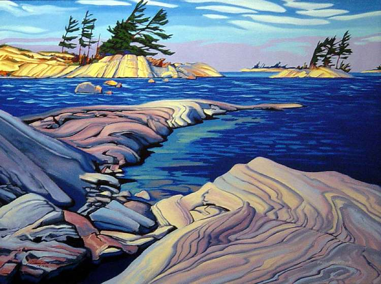 Paul Gauthier - Spring Wind-Georgian Bay