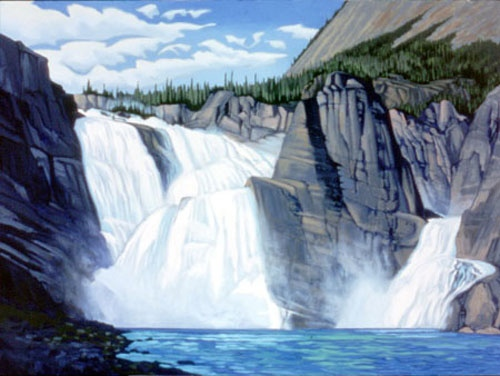 Paul Gautier Virginia Falls Nahanni Rivert