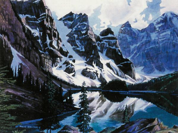 Paul Gauthier - Moraine Lake-Banff Park