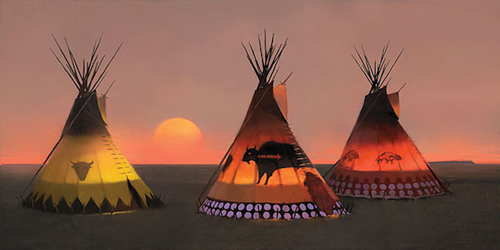 Tom Gilleon Indian Sunset 2