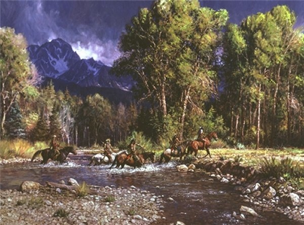 Martin Grelle before The River Rises