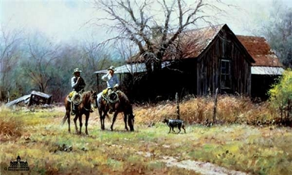 Martin Grelle Brush Country Cowboys