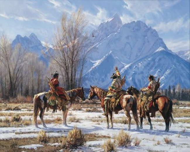Martin Grelle Eagle Prayer