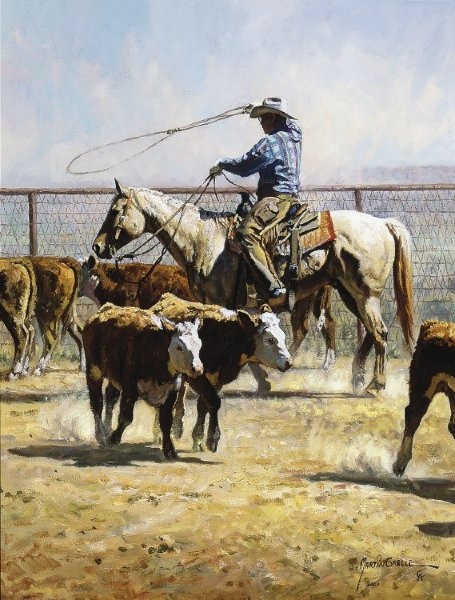 Martin Grelle In The Texas Dust
