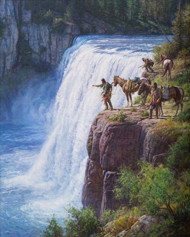 Martin Grelle Offerings to the Spirit in the Falls
