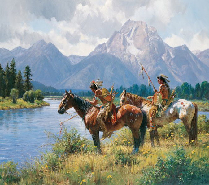 Martin Grelle Signs along the Snake
