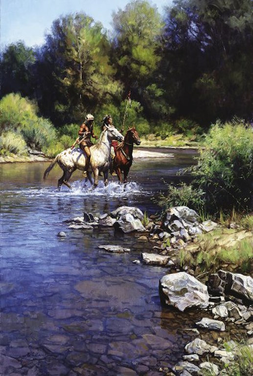 Martin Grelle Still Water Crossing