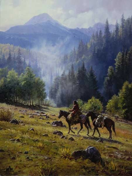 Martin Grelle Mists Of Morning