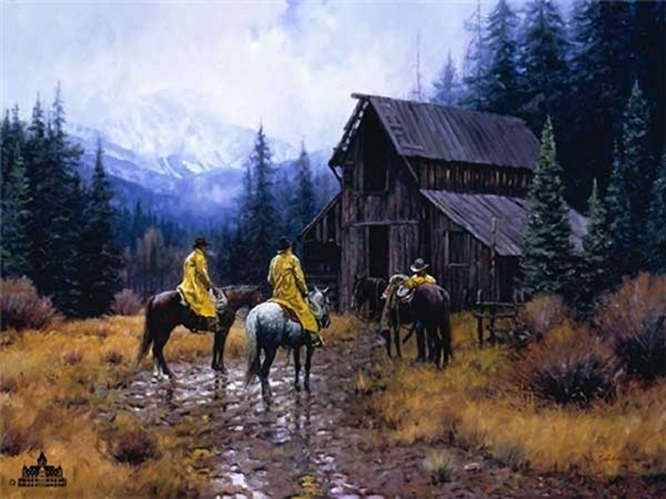 Martin Grelle Muddy Morning