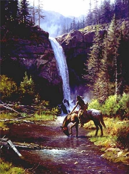 Martin Grelle peaceful Morn