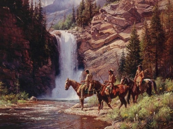 Martin Grelle Spirit Of Pitimaka - Running Eagle