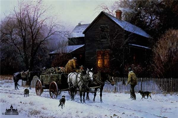 Martin grelle Wagonload of Warmth