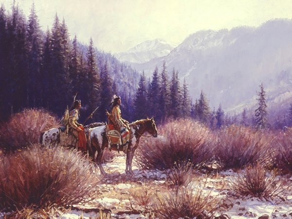 Martin Grelle Warriors In The Willows