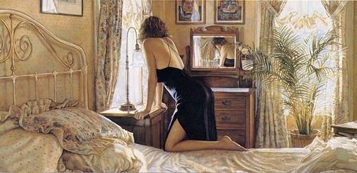 Steve Hanks A Moment For Reflection