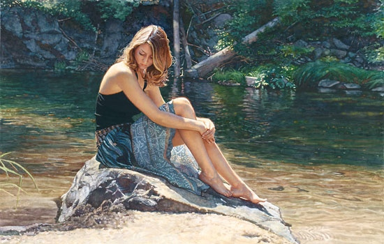 Steve Hanks Listening To The River